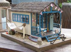 Toy Doll House - Miniature Inspiration - Beach House