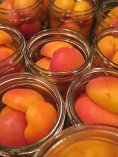 Brandied Apricot #Preserves_recipe. I bet this would be an excellent dessert. Perhaps with vanilla ice cream...