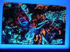 Glow in the dark version of The Front Line by Justin Moneey Art For Sale, New Art, The Darkest, Originals, Art Projects, Glow, Etsy Seller, Facebook, Creative