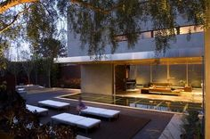 Designed by architect Jonathan Segal and located in La Jolla, San Diego, California