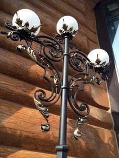 Metal Worx, Pole Lamps, Door Gate Design, Metal Plant Stand, Candle Lamp, Street Lamp, Rustic Elegance, Candelabra, Blacksmithing
