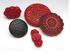 Cinnabar Beads And Pendants from China- Ornament Magazine