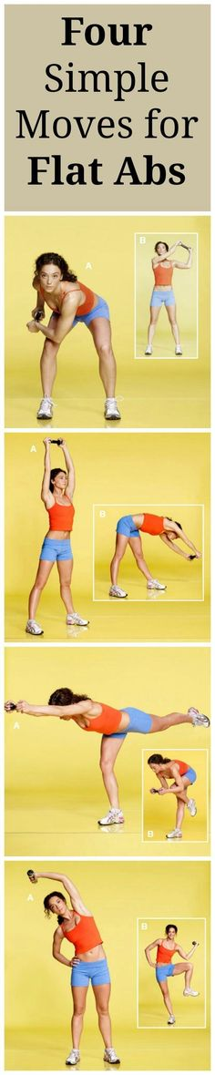 A Core Workout for Flat Abs in Just FOUR Steps! We're helping thousands of Ladies (Just like You) Get Fit & Sexy^_^