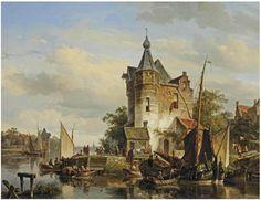 Cornelis Springer [Dutch Painter, 1817-1891]. Обсуждение на LiveInternet - Российский Сервис Онлайн-Дневников