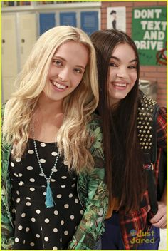 Lauren Taylor (Shelby) and Landry Bender (Cyd) Best Friends Whenever