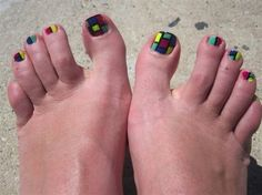 Toenail Nails Arts Designs | 55 Nail Art Ideas- For Your TOES photo We've Got You Covered's photos ...
