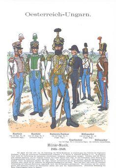 Band XI #20.- Österreich-Ungarn. Militar-Musik 1835-49.