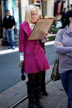 Tori Spelling films new talk show