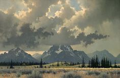 Michael Stack - American / California (born 1947) landscape painter