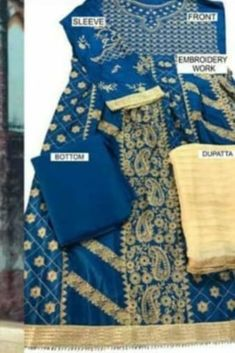 Price Rs 1706 + Shipping extra |   fabrics—— Top - faux georgette ,Jacquard choli & pure cotton with heavy embroidery Bottom-santoon & semi lawn Dupatta -chiffon with embroidery Chiffon digital print Soft net with embroidery Banarasi   #Shalwarsuit #pakistanistyle #Pakistanisuit #lawnsuit #Partywearsuit #partyweargown