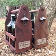 Customers truly are the creativity that drives me each day! I love doing custom laser etching for them.  #growler #mensgifts #beer #woodworking