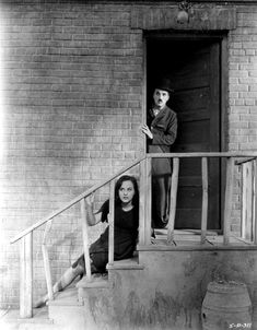 "Paulette Goddard & Charlie Chaplin ""Modern Times"" 1936"