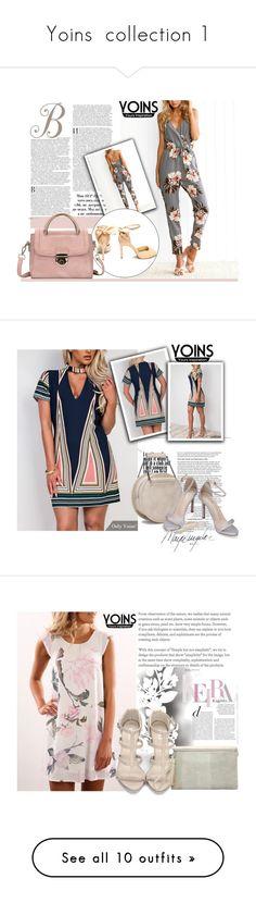 """Yoins  collection 1"" by difen on Polyvore featuring yoins, yoinscollection, loveyoins, Élitis, Stila, Bobbi Brown Cosmetics, Balmain and Oris"