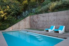 Architect Chet Callahan did a complete renovation on a hillside, Spanish Colonial home in Los Feliz, California for himself and his young family. When it came to the interior details, he brought on Ghislaine Viñas Interior Design to help turn the 1934 renovated house into a modernist's dream.
