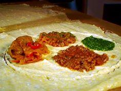 Table of Polenta recipe from Michael Chiarello via Food Network