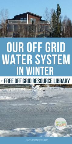 We live off the grid at 62 degrees north latitude in Canada's far north. Even when it gets down to -40 or colder, we get water with our off grid water system. Learn how it works in winter temperatures. #offgrid #offgridwater #offgridpower #offthegrid #offgridcabins