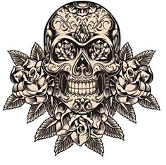 Cool suger skull