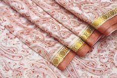 Beautiful Traditional saree, Soft silk saree fabric, Silk saree, Pure silk fabric, 5 yard silk fabric, Gift for her #PSTIC 231