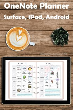 OneNote digital planner from HappyDownloads with over 600 stickers. Works on any device with the OneNote app, including Surface Pro, iPad and Android devices.  New to digital planning? All our planners and stickers come with a 30-day money back guarantee. Try it out, I'm sure you will love them!  Happy planning!  #digitalplanning #digitalplanner #onenoteplanner #ipadplanner #digitalplanners #onenotetemplate #onenoteplanning #happydownloads Onenote Template, Planner Template, Printable Planner, Due Date Tracker, Microsoft Software, Finance Tracker, Planner Dividers, 30 Day, Surface Pro
