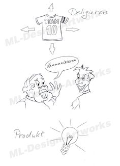 The light bulb is easy to draw and great to use as visula for ideas.