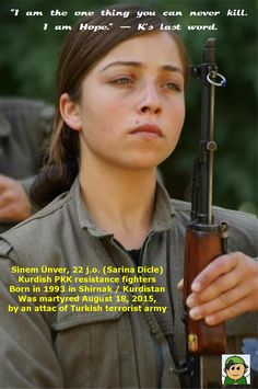 #YPG #YPJ #PKK #HDP Forever in our hearts, #Kurdish sisters, daughters &…