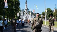 Assomption sous haute surveillance à Lourdes