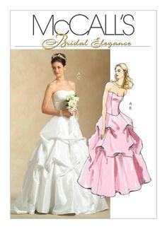 5321 McCall's Bridal Elegance Wedding Gown Bridal Gown