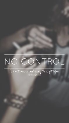 No Control // One Direction // ctto: @stylinsonphones (on Twitter)