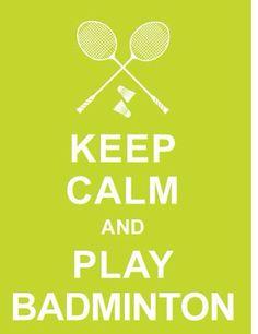 Love badminton so much!!#contest