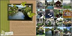MAKE A PHOTO COLLAGE. I used this page to highlight a special photo and write about a favorite destination.