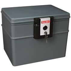 First Alert 2037F Water and Fireproof File Cabinet | from hayneedle.com