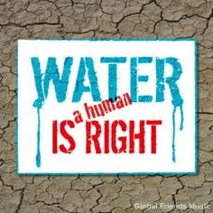 Water campaign | Water and sanitation are a human right!