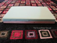 How to build a simple, scrap wood upholstered footstool Upholstered Footstool, Wood Putty, Pink Toes, Reupholster Furniture, Quilt Batting, My Sewing Room, Pocket Hole, Wood Screws, Diy For Girls