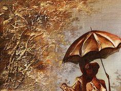 Canvas art Oil Painting Gold New York Wall Art Home decor NY
