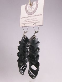 Inner Tube Feather Aeon by RetiredGeneration on Etsy