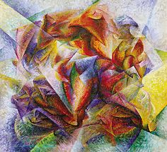 """""""Dynamism of a Soccer Player"""" by Umberto Boccioni, 1913"""