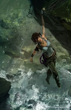 Lara Croft can't wait for 2015!... my nerdiness is showing... :)