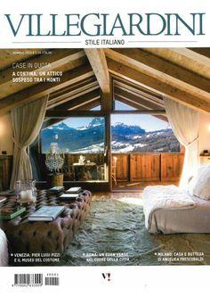 Villa & Giardini, Palazzo Orsi Mangelli & Alberto Vignatelli on Luxury Living Group, January 2014