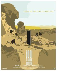 """2001: a space odyssey"" fan poster - danny thomas ii"