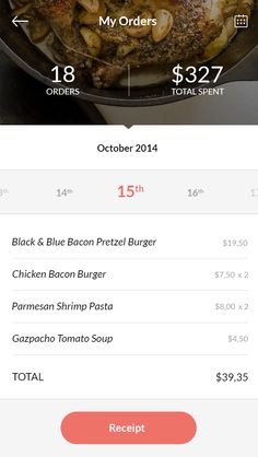 Dinner Club™ iOS8 Concept