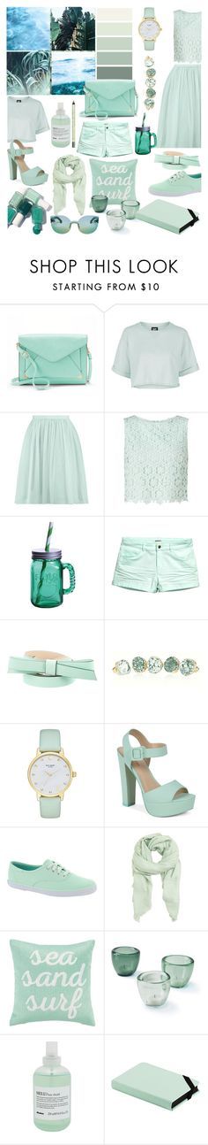 """""""Collection #1"""" by loreense ❤ liked on Polyvore featuring Apt. 9, Essie, Topshop, Boohoo, Miss Selfridge, Fitz & Floyd, Kate Spade, Call it SPRING, Keds and MANGO"""