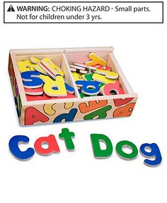 Melissa and Doug Toy, Magnetic Wooden Alphabet - Have these, they are awesome too!