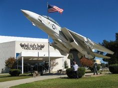 May 2019 - Experience the magic of flight at the National Naval Aviation Museum! See over artifacts and 150 aircraft representing Navy, Marine Corps and Coast Guard Aviation. Pensacola Beach, Navarre Beach Florida, Florida Travel, Florida Beaches, Visit Florida, Florida Vacation, Best Amusement Parks, Florida Sunshine, F-14 Tomcat