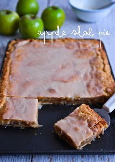 "Apple Slab Pie."""" So much easier and yummier than the traditional apple pie!"""""