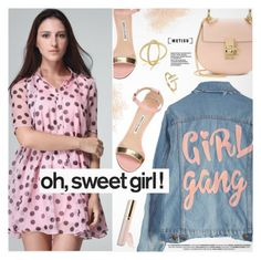 """""""So Sweet"""" by metisu-fashion ❤ liked on Polyvore featuring High Heels Suicide, Eve Lom, Manolo Blahnik, Chloé, Beautycounter, polyvoreeditorial, polyvoreset and metisu"""
