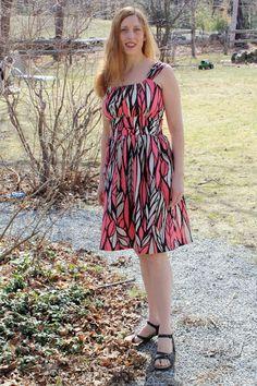 craftyNHmom: Sew Along Dress - finished! JAMIE dress by sisboom