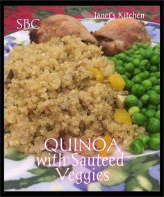 Quinoa with Sautéed Veggies