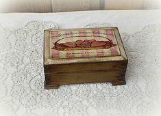 agir / Krabička Krabi, Decorative Boxes, Vintage, Home Decor, Homemade Home Decor, Decoration Home, Decorative Storage Boxes, Primitive, Interior Decorating