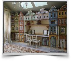 DIYportal.ru - для любителей творить! | Идея для детской комнаты – город | http://diyportal.ru