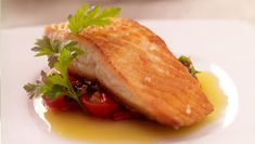 SuperValu | Pan Seared Salmon With Garden Tomato & Chilli Salsa |